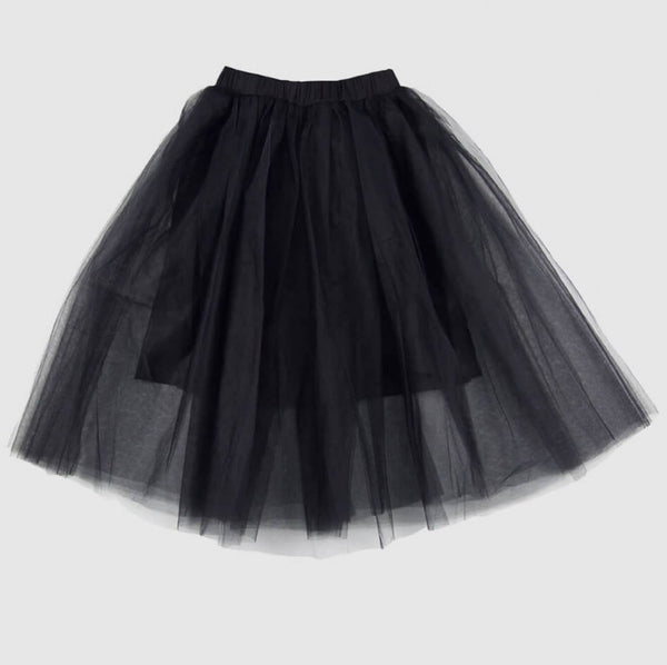 feather drum beatrice maxi tulle skirt