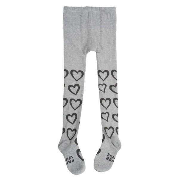 paper wings hearts tights