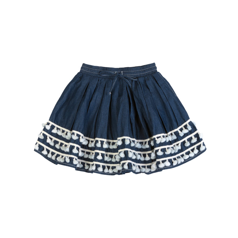 paper wings tassel skirt