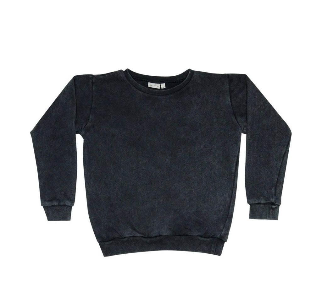 ZUTTION KIDS SWEATER - CHARCOAL