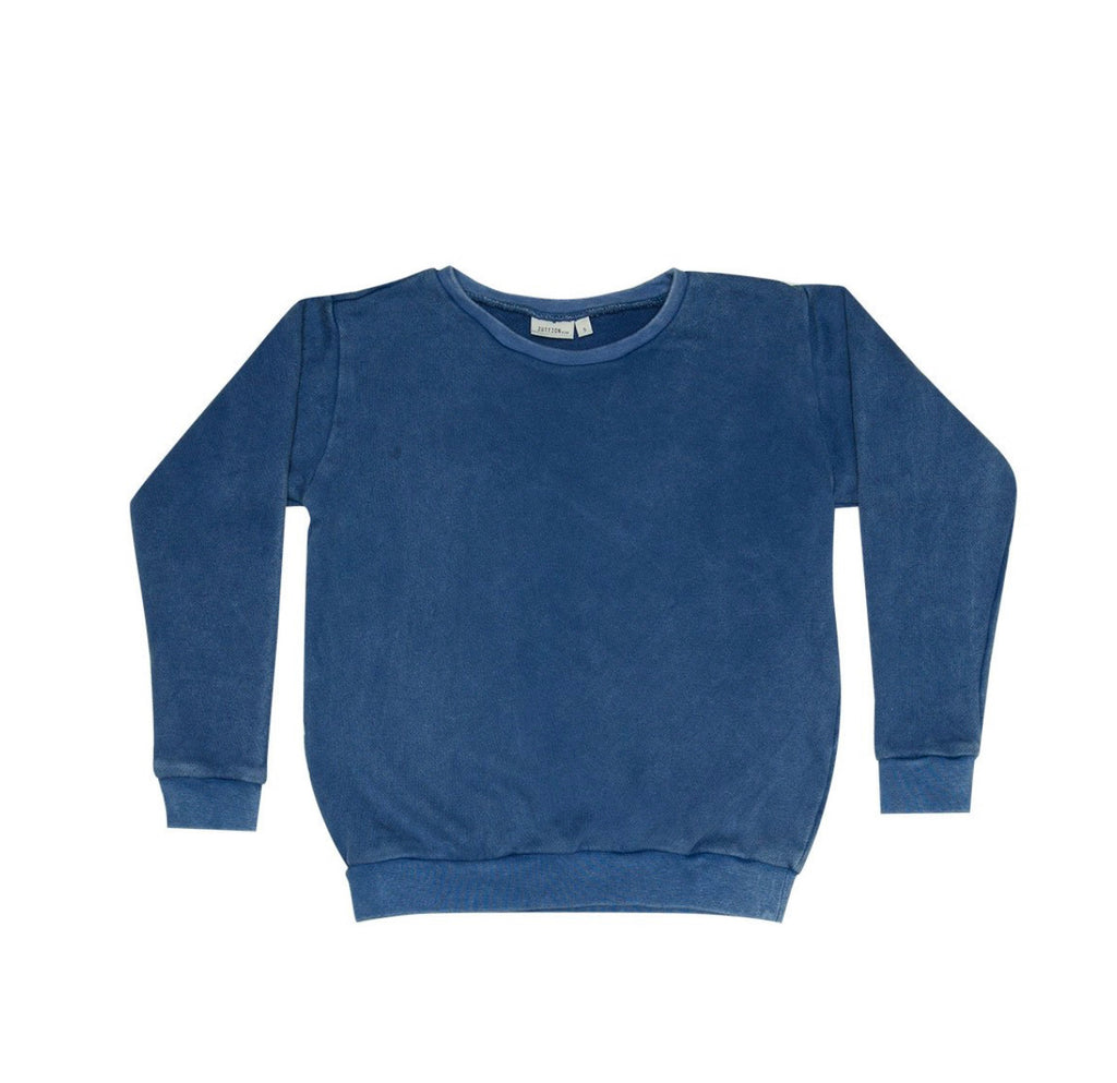 ZUTTION KIDS SWEATER - NAVY