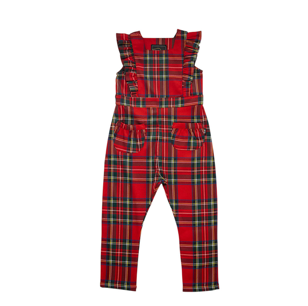 Rock Your Baby - Tartan Jumpsuit