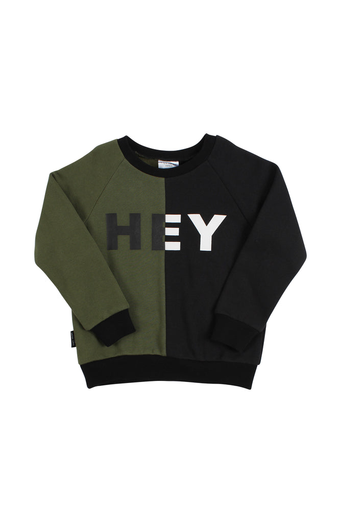 TINY TRIBE HEY SEGMENT SWEATER