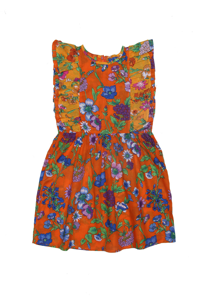 Coco & Ginger Viola Dress - Marigold Fiore Patch