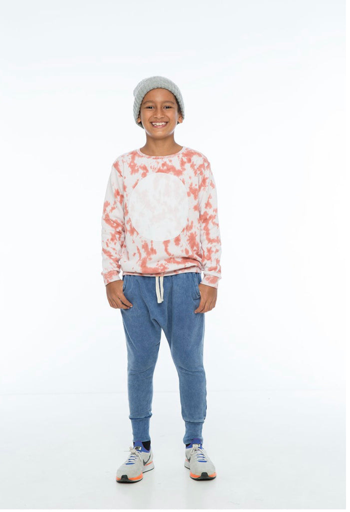 ZUTTION KIDS SWEATER CIRCLE - SALMON