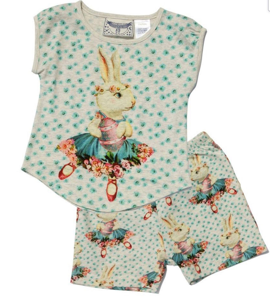 paper wings Pyjamas-  Easter ballet bunny