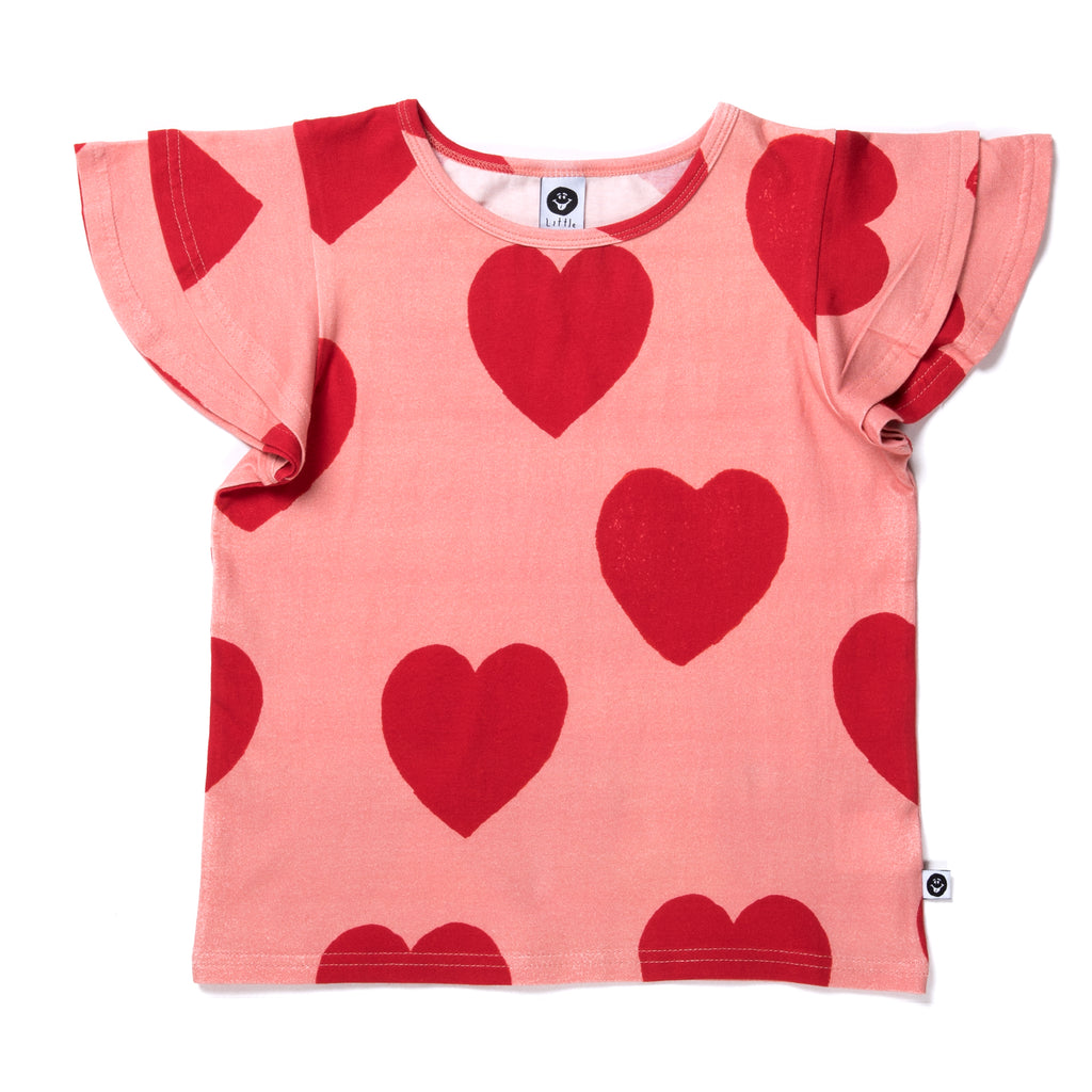 Little horn hearts tee