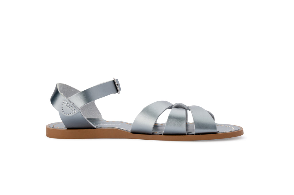 salt water sandals women's pewter