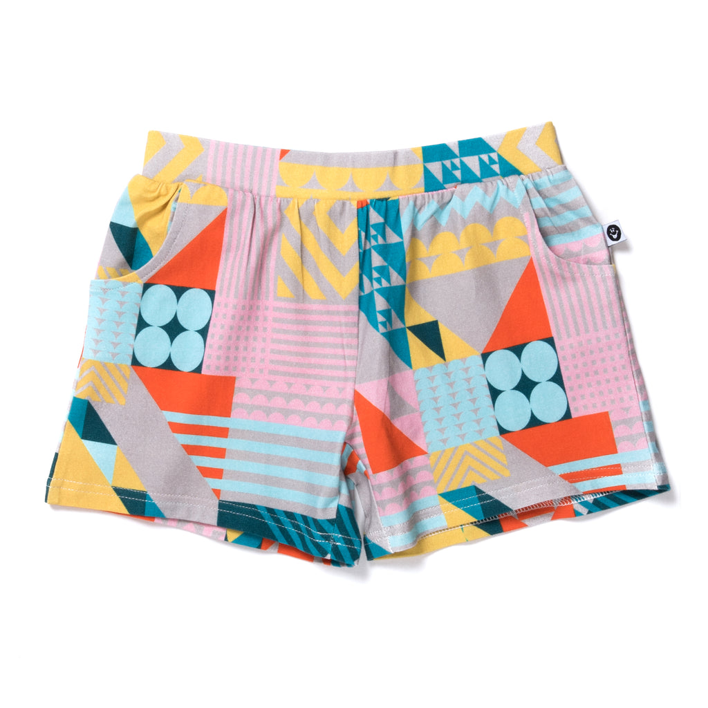 Little horn Mosaic shorts