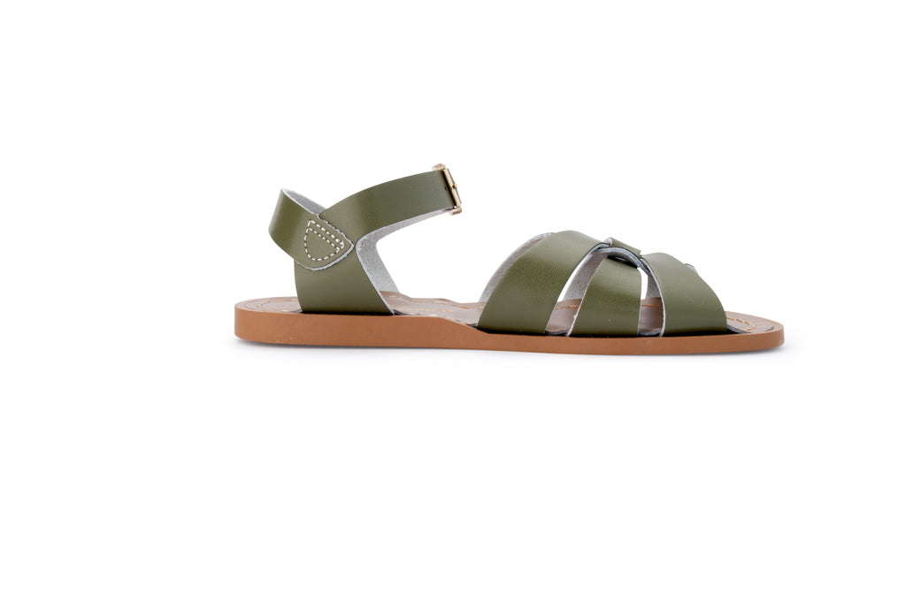 salt water sandals women's olive