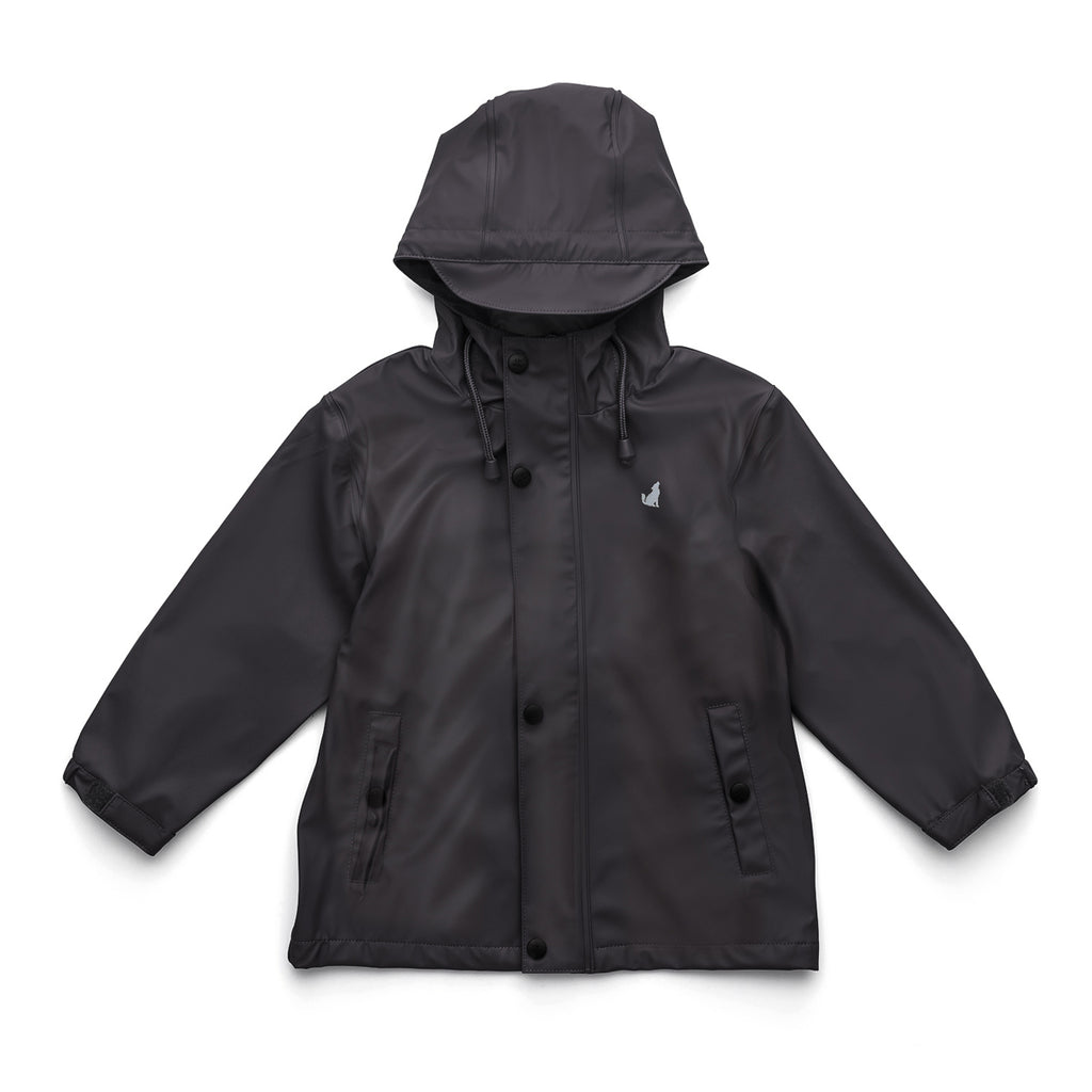 Crywolf Play Jacket Black Raincoat