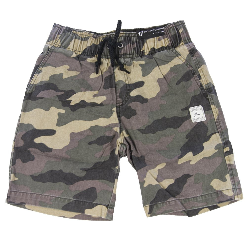 rusty boys off the hook elastic walk short