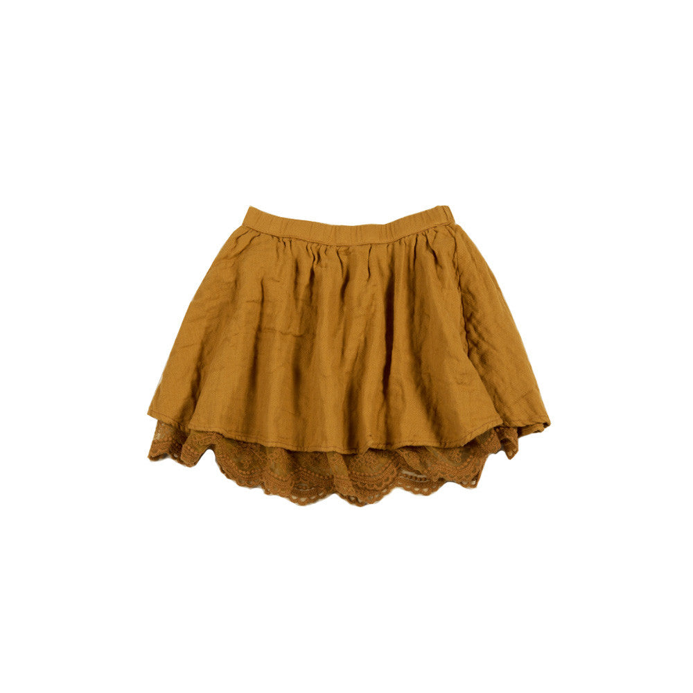 rylee and cru ginger lace mini skirt