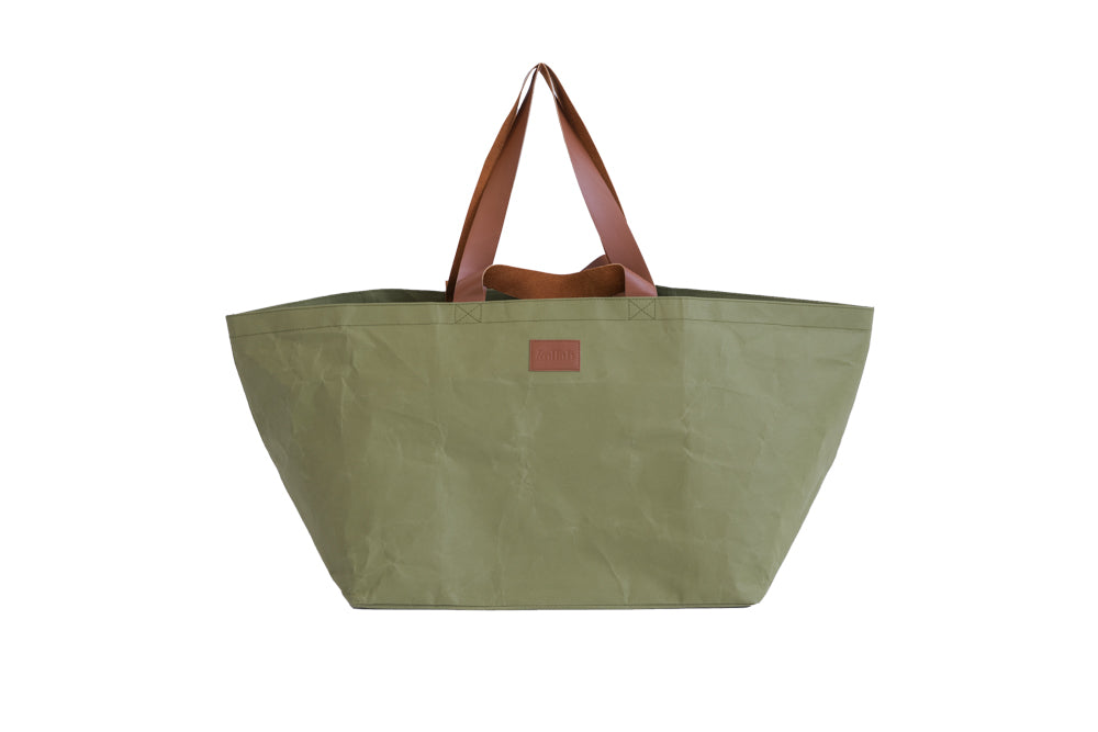 PAPER by Kollab beach bag - Olive