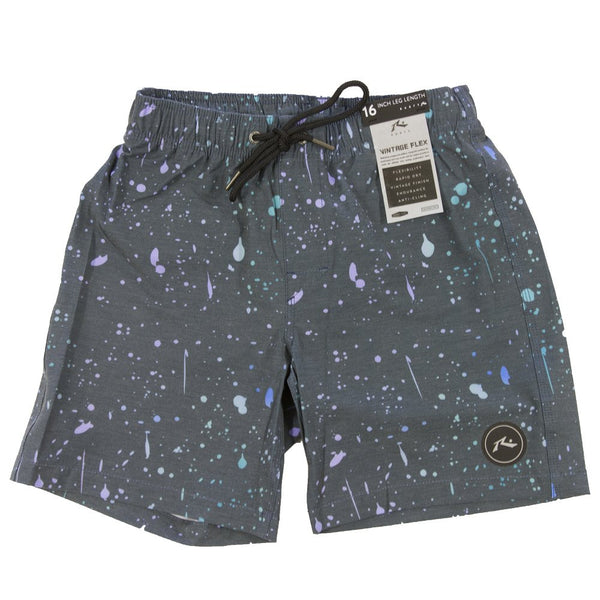 rusty boys hyperview elastic boardshort