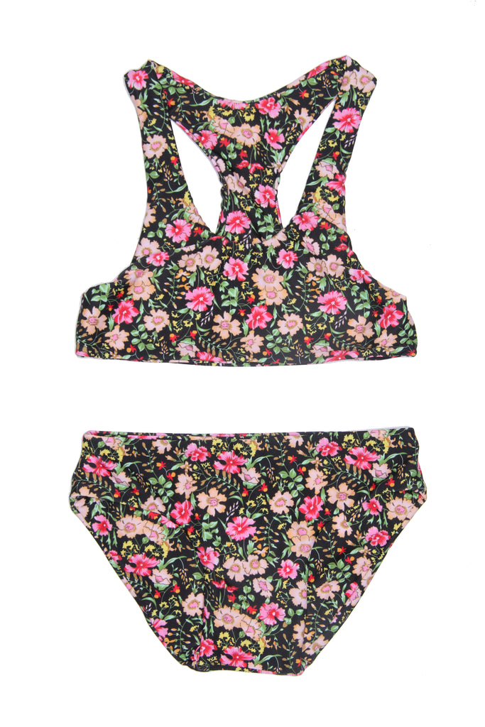 Coco and Ginger - COVE Bikini Set - Midnight Indian Flowers