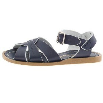 salt water sandals children's navy