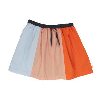 tiny cottons colour block woven skirt
