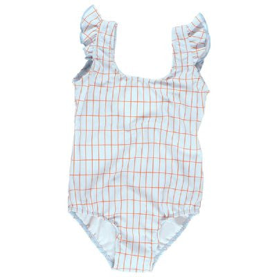 tiny cottons grid swimsuit