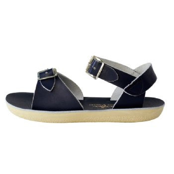salt water sandals sun san surfer navy