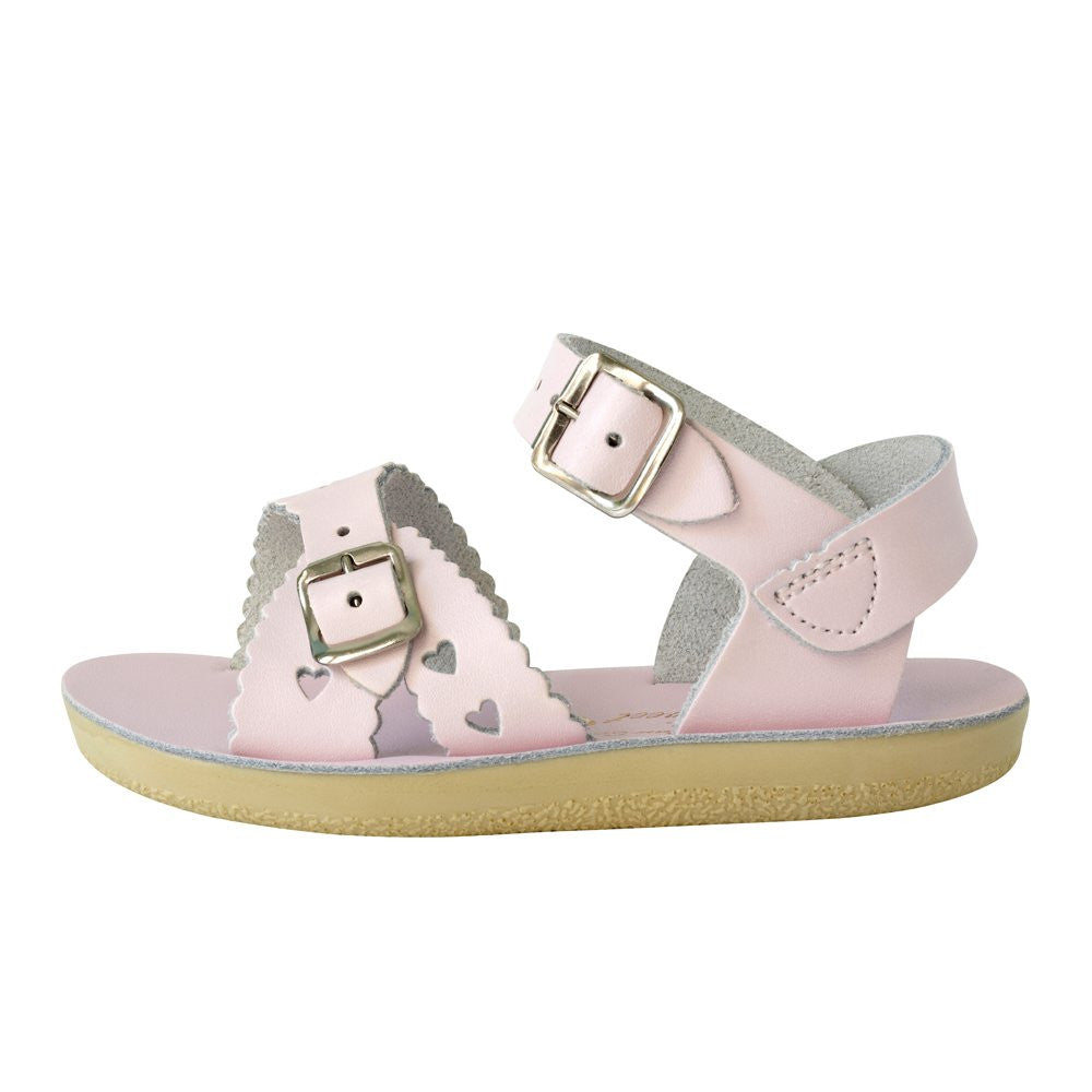 salt water sandals sun san sweetheart pink