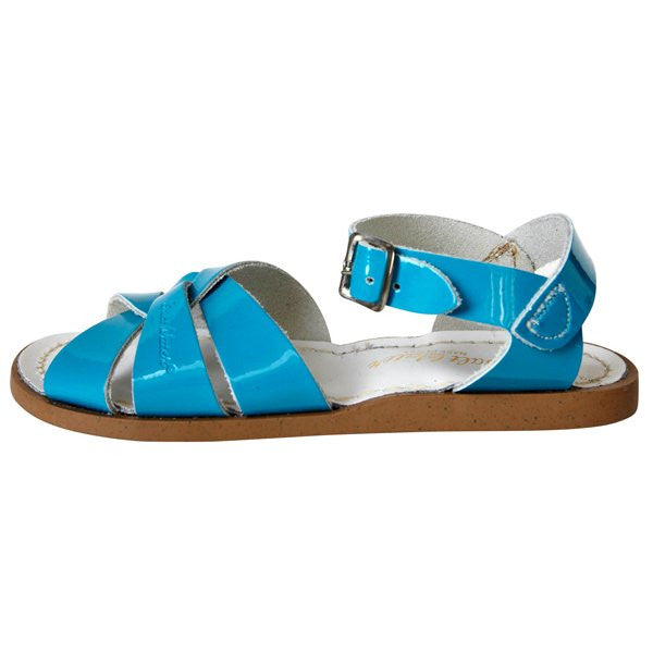 salt water sandals children's turquoise
