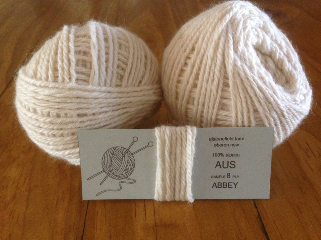8 ply yarn - Abbey