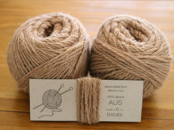 8 ply yarn - Bambi
