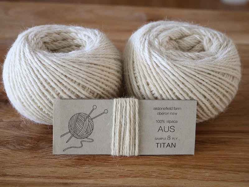 8 ply yarn - Titan