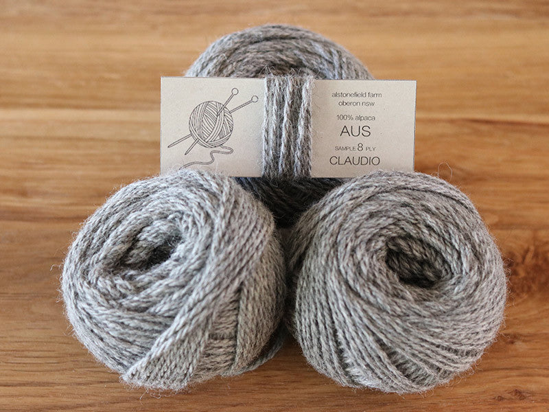 8 ply yarn Claudio