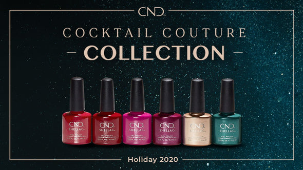 CND Cocktail Couture - Holiday 2020 Collection
