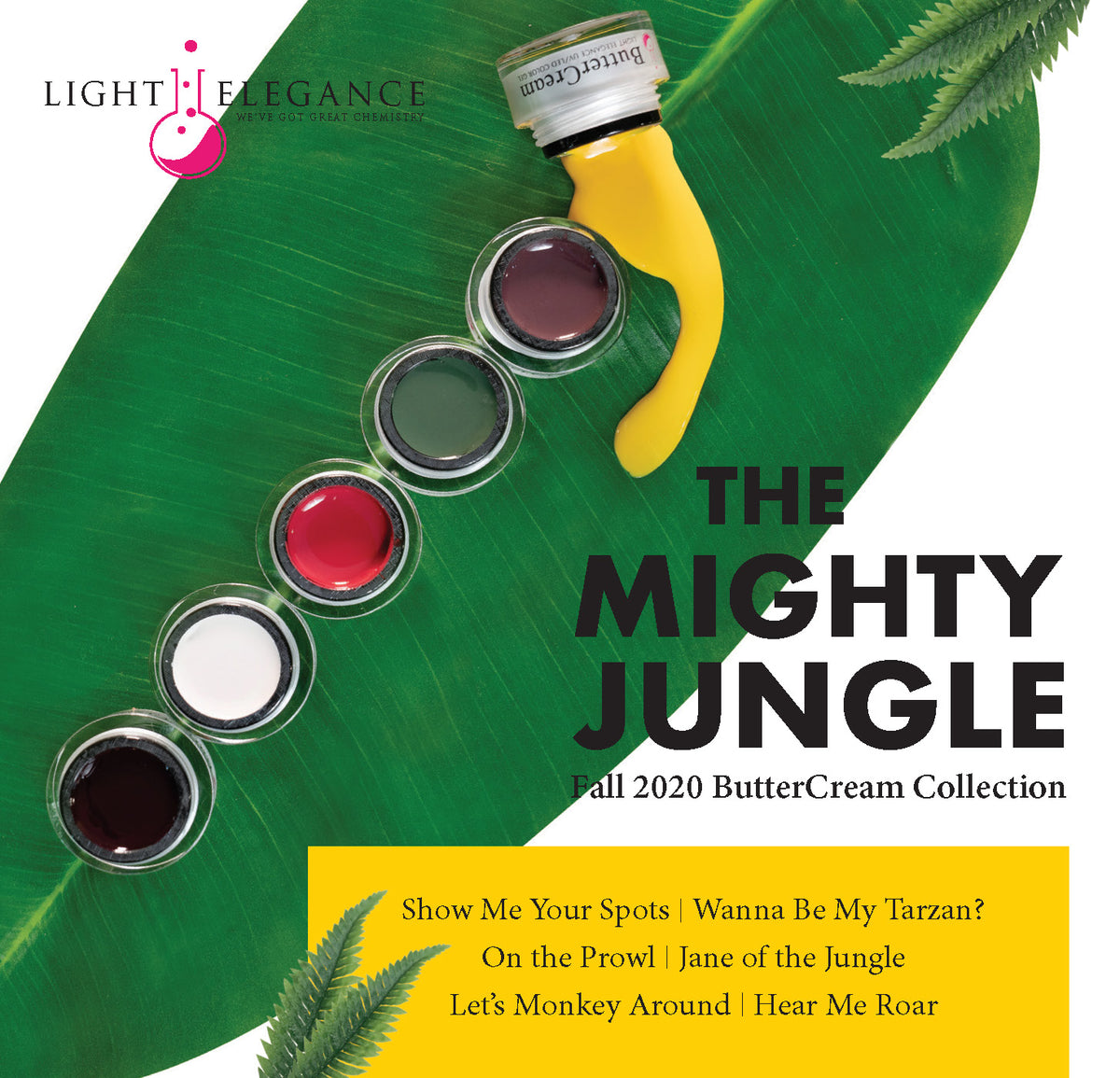Light Elegence Butter Cream The Mighty Jungle