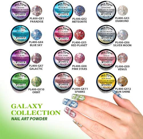 Mia Secret Galaxy 12pk Colored Acrylic Collection