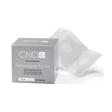 CND Clear Performance Forms 300Ct