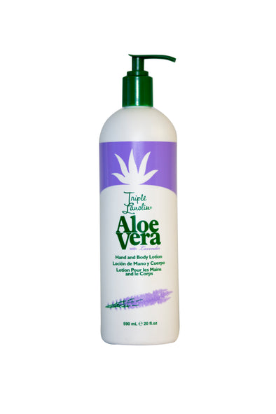 Triple Lanolin Lavender Aloe Vera lotion - 20 0z