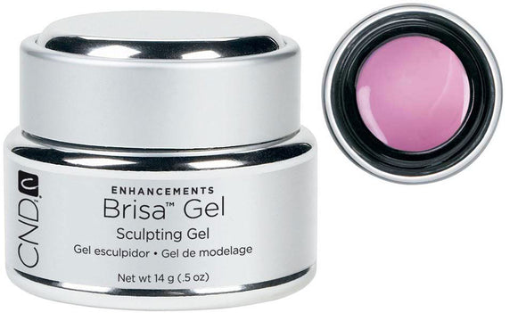 CND Brisa Gel Pure Pink Sheer .5 oz