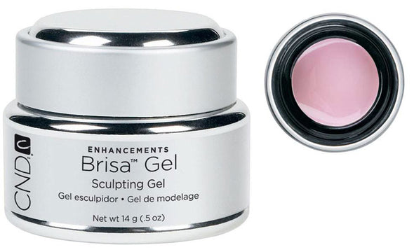CND Brisa Gel Warm Pink Semi .5 oz