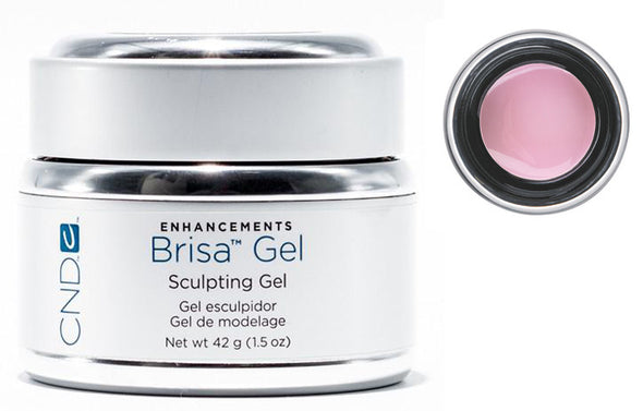 CND Brisa Gel Cool Pink Semi 1.5 oz