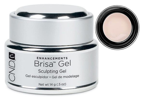 CND Brisa Gel Neutral Beige Opaque .5 oz