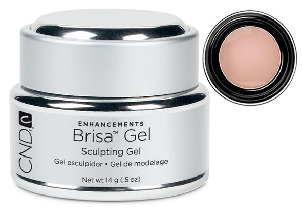 CND Brisa Gel Warm Beige Opaque .5 oz