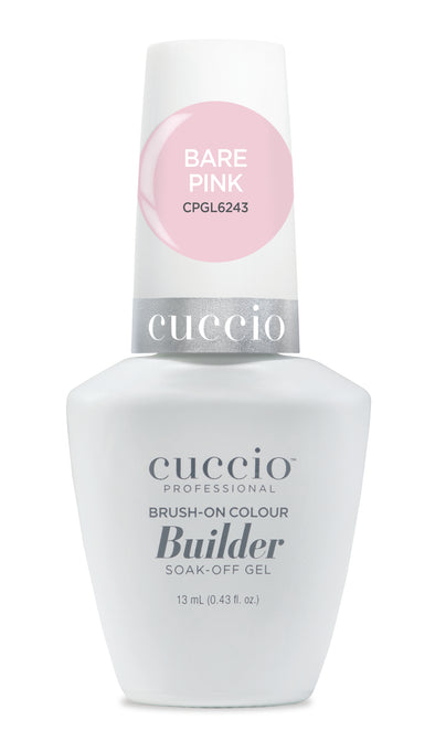 Cuccio Brush-on-Color Builder in a Bottle - Bare Pink