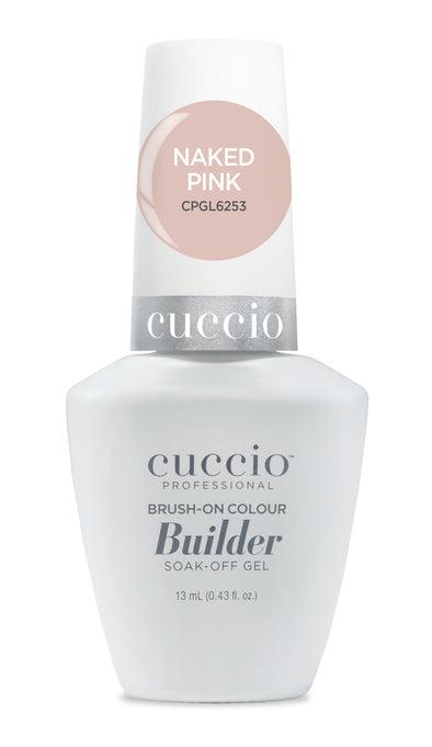 Cuccio Brush-on-Color Builder in a Bottle - Naked Pink
