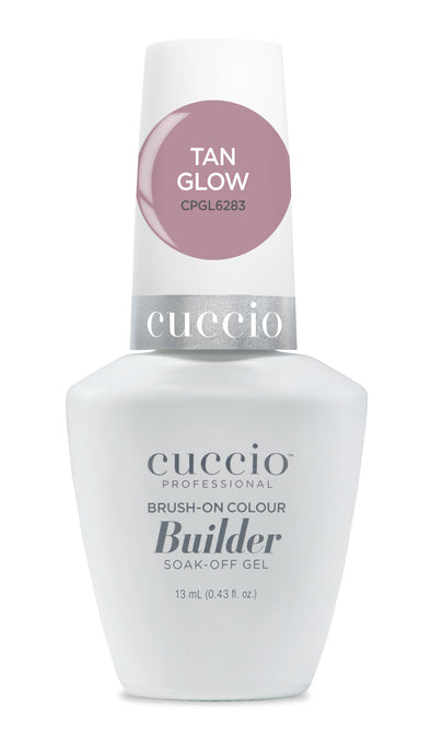 Cuccio Brush-on-Color Builder in a Bottle - Tan Glow