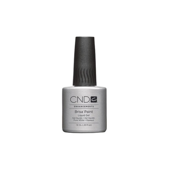 CND Brisa Gel Paint Pure White Opaque