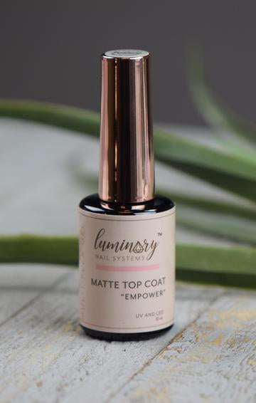 Luminary Empower No Wipe MATTE Top Coat 10 ml