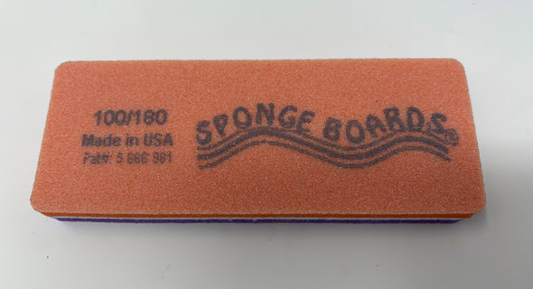 Sponge Buffer Purple/Orange 100/180