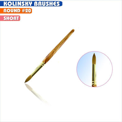 #20 Round Kolinsky Brush