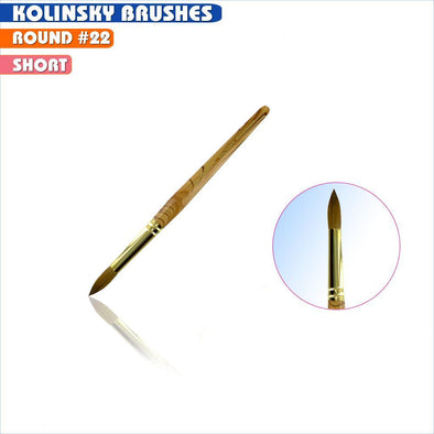 #22 Round Kolinsky Brush