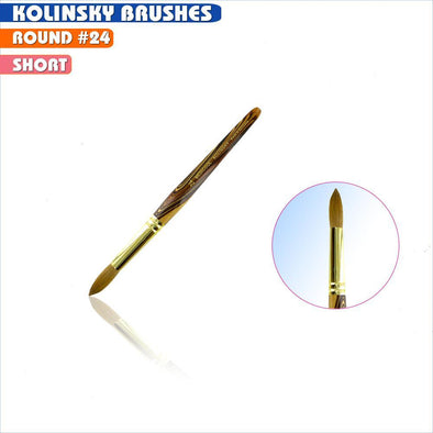#24 Round Kolinsky Brush