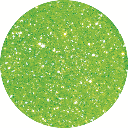 YN Vegas Glitter - Incredible Green